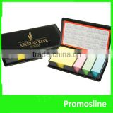 Hot Selling custom sticky note leather case sticky notes
