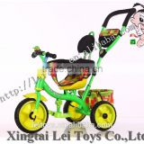 Fashionable model 3 in 1 baby bicycle tricycle for sale with rotaty seat made in China for best quality