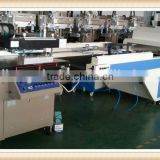 3/4 automatic screen printing machine with vacuum table for UV varnish on paper
