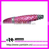 Wholesale pink rhinestone pen Crystal stylus pen