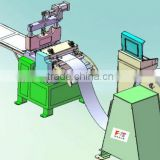 stainless steel sheet straightening machine