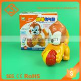 Novelty childhood gift unique plastic animal promotional toys for kids