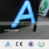 blue led lightign 3d plastic acrylic blister letter sign                                                                                                         Supplier's Choice
