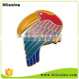 Manufacturer Custom Metal Beautiful Bird Lapel Pin Badges