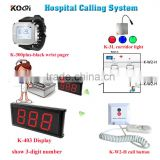 Wireless Nursing Call bell System for elderly home clinic hospital emergency center Push button with indicator light