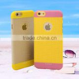 Multi Color Ultra Thin TPU Soft Protective Heat Radiation Net Case Back Cover for Iphone and for Samsung