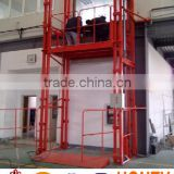 hydraulic vertical elevator guide rail lift up mechanism