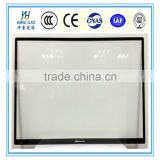 1mm-6mm LCD display glass, TV screen glass, anti reflective/anti reflection glass monitor