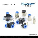 best air automatic pneumatic pushfit fittings PC ,PL,PB, PT ,PX NPT,PT ,BSP Thread,90 degree elbows air push male fitting