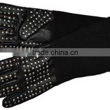 Animal handling glove with metal studs / Protection glove for reptile control/Pet Bit Protect glove
