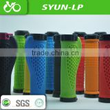 colorful sanyun bicycle handle bar grips for ergonomic design TPR +PP bicycle parts of rubber bike grips