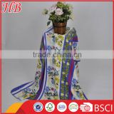 Hot!!!cheap super soft fleece blankets manufacturer and knitting fabric micro polar fleece blanket
