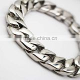 Figaro Chain Punk Men 316L Stainless Steel Bracelet                                                                         Quality Choice