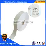 Bizosft Washable label Care Instruction Label Clothes Barcode Label Non-woven Label 20mm*200M roll