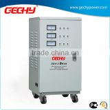 SDV-3-9000VA vertical three phase servo type meter display high accuracy full automatic AC voltage regulator/stabilizer