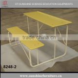 wholesale stackable school classroom furniture combination double student desk and chair