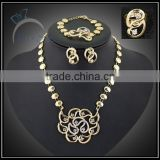 fashion jewelry set for women with clear stone/gold plate jewelry to buy