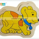small dog jigsaw puzzle toy