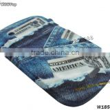 Jeans TPU Skin Back Cover for BlackBerry Bold 9900. Soft Silicon Case for BlackBerry 9930