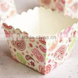 Laser decoration lovely pattern handmade small mini biscuit box