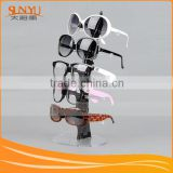 Professional manufacture Fashion Wooden floor standing Fashion Clear Acrylic Sunglasses Display Racks                                                                         Quality Choice