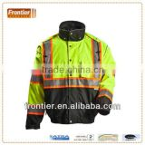 3 in 1 safety jacket with reflective tape, comply with ANSI 107 Class 3