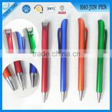 Wholesale Cheap Plastic Ballpoint Pen ,Multicolor Logo Plastic Ball Pen For Advertisement