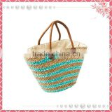 China Wholesale Custom raffia beach bag