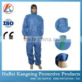 Stitched seam TYPE5/6 barrier protection anti static with SMS fabric to protect from blood and chemical