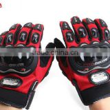 Professional Motorcycle Gloves Protect Hands Full Finger Breathe Freely Flexible Gloves Moto Gears