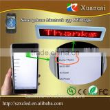 Bluetooth app android phone edit/calling operation led bluetooth message display sign                                                                         Quality Choice