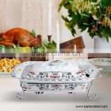 Ceramic Chafing dish and food warmer