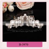 Top sale cheapest Flower fancy wedding hair combs