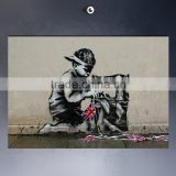 3d kids room banksy wall sticker decorative