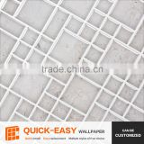 Dongde Quick-easy self-adhesive tile sticker, decorative mosaic wall tile for kitchen bathroom