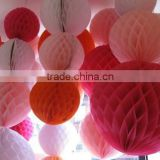 Tissue Paper Honeycomb Ball Lantern Wedding Party Decoration