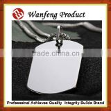 Promotional High quality wholesale stainless steel military blank custom dog tags export metal pets tags