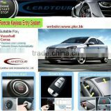 Car Auto Door Open Systems Push Start for Vauxhall Corsa Keyless Entry