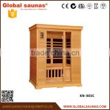 Factory 3 persons portable sauna and steam room