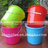 5L-29L plastic ice bucket with lids and handle