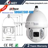 Dahua 2Mp Full HD 30x WDR Network PTZ Dome Camera SD6AE230F-HNI with Auto-tracking and IVS