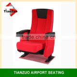 Comfortable Fabric Leture Hall Chair/ Cinema Chairs Prices /Conference Hall Chair(T-C36)