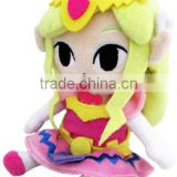 Anime The Legend of Zelda Princess Plush Toy Doll Pillow Soft Kawaii Cute Lovely