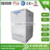 Bangzhao Electric 250kw Pure sine wave inverter for 3 phase inductive motor use