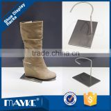 Best price shoes display rack ,Supply for knee boot,Shop_fitting Matted Steel shoes Display Rack