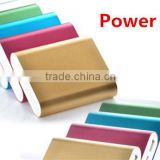 Power bank 2015 high quality power bank light power bank for macbook pro /ipad mini