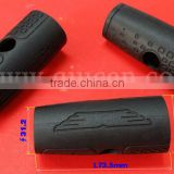 Rubber Handle Cover For Machine Grips / Kitchen Pan Silicone Handle / Molded Rubber Insert Handle Part