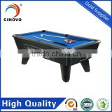 High Quality Professional Best Selling Outdoor Solid Wood Coin Operatrd Folding Pool Table 7ft For Sale