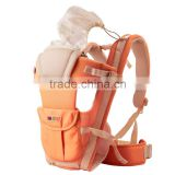High Level 3D Mesh Breathable Baby Carrier With Detachable Hood Convenient Baby Product Names