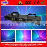 450mW RGBB Four Tunnel Laser Show System night club lighting